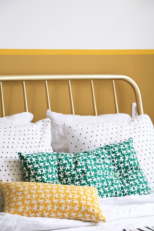 gouden bed