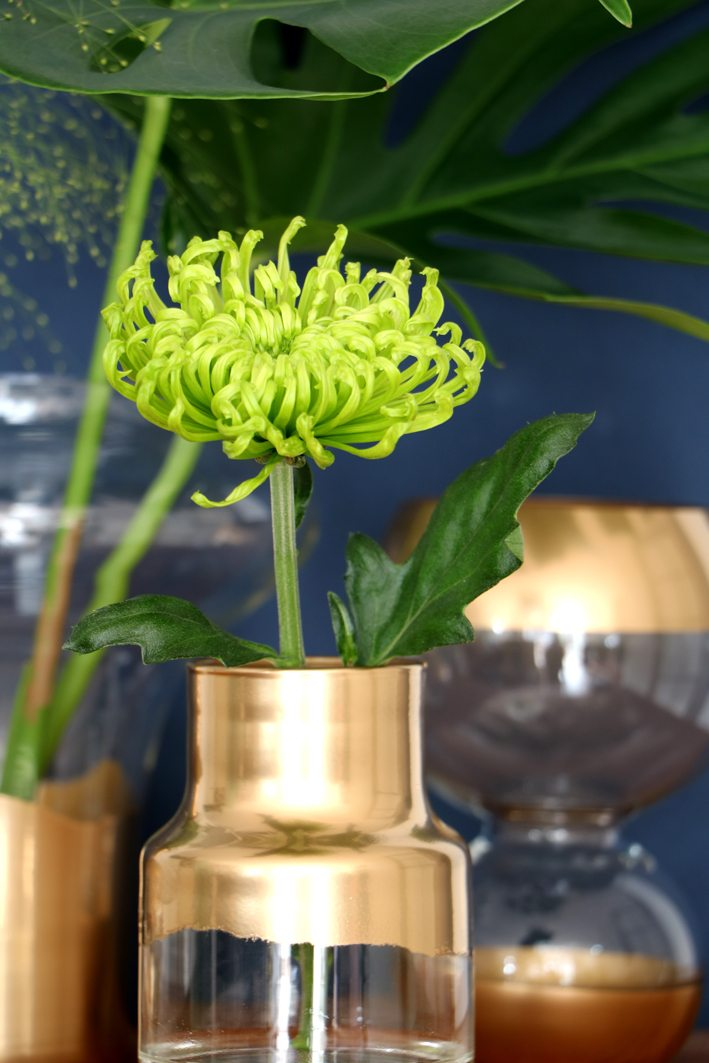 diy golden vases