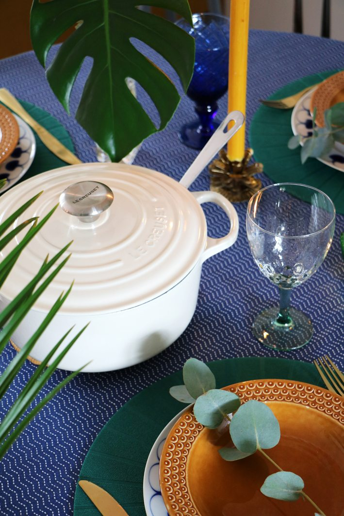 le creuset table styling