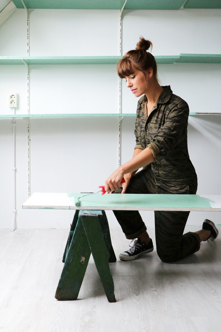 Flexa plank verven