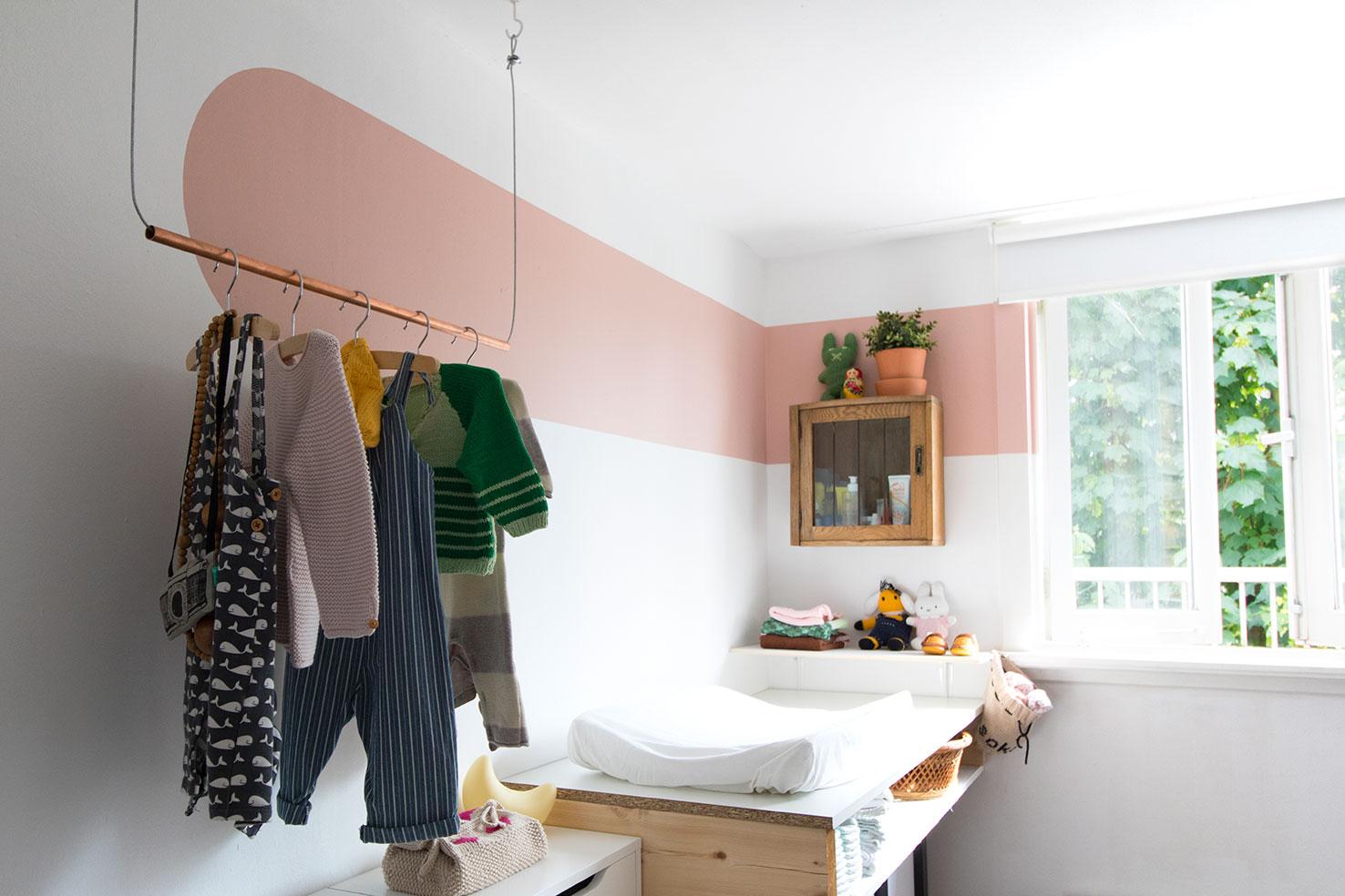 babykamer met kleur