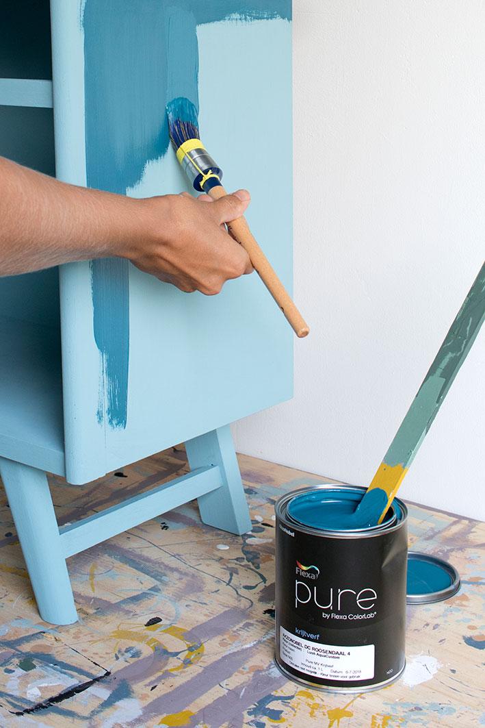 schilderen met krijtverf
