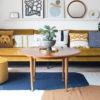 vintage salontafel rond