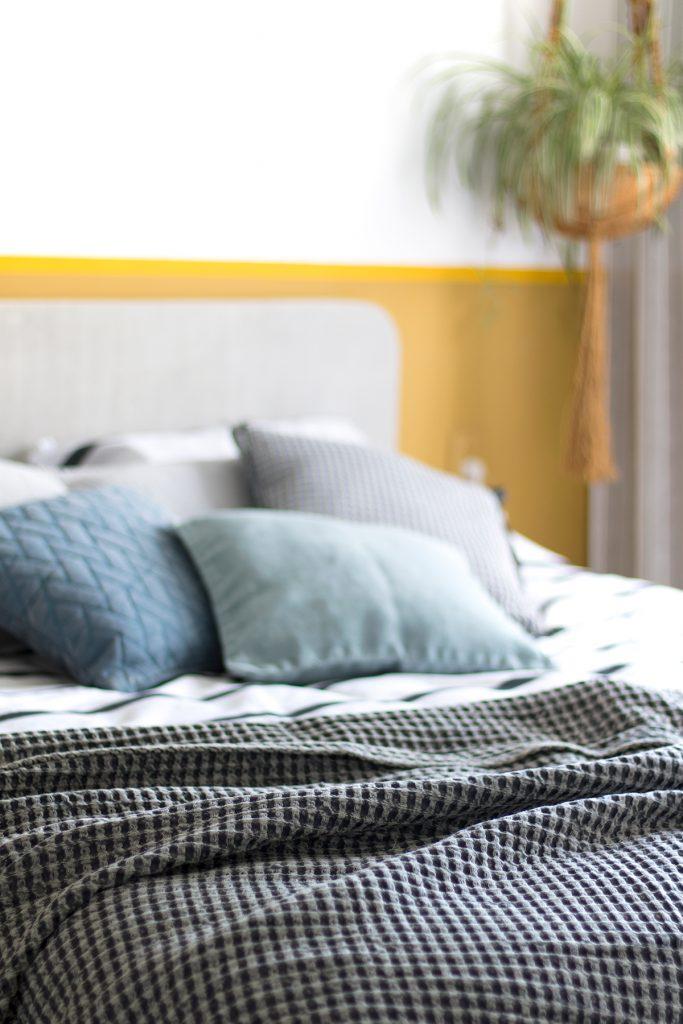 styling van de slaapkamer