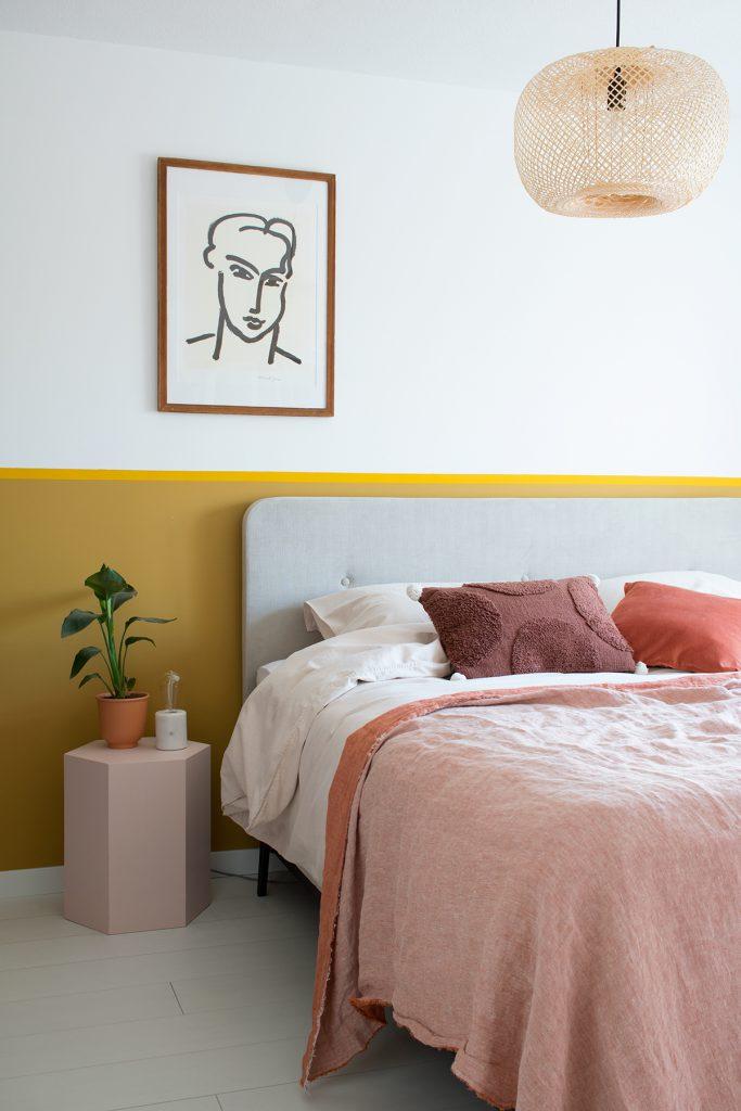 warme kleuren in de slaapkamer