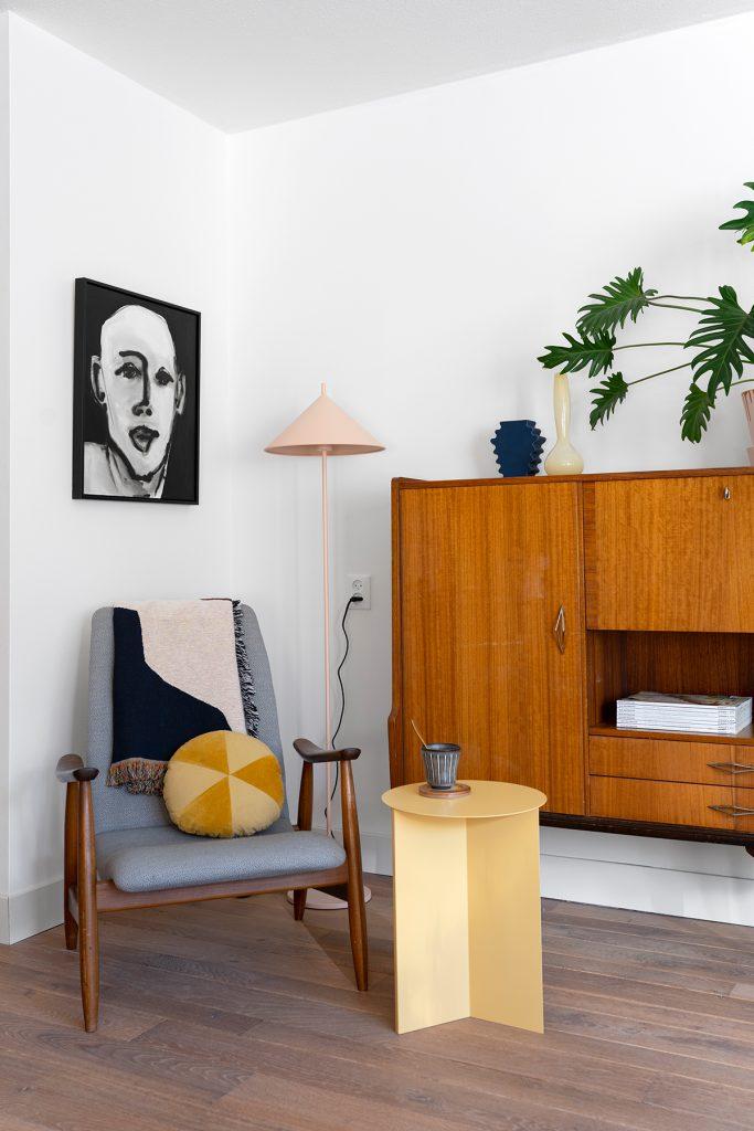 vintage en design woonkamer