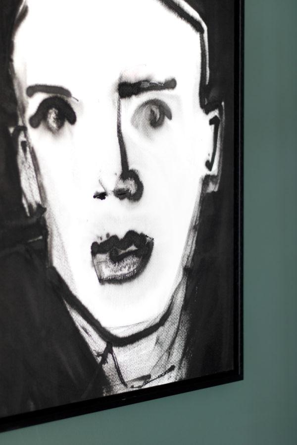 portret inkt