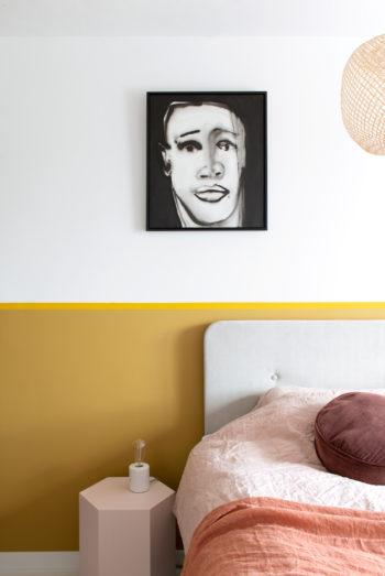 portret van inkt