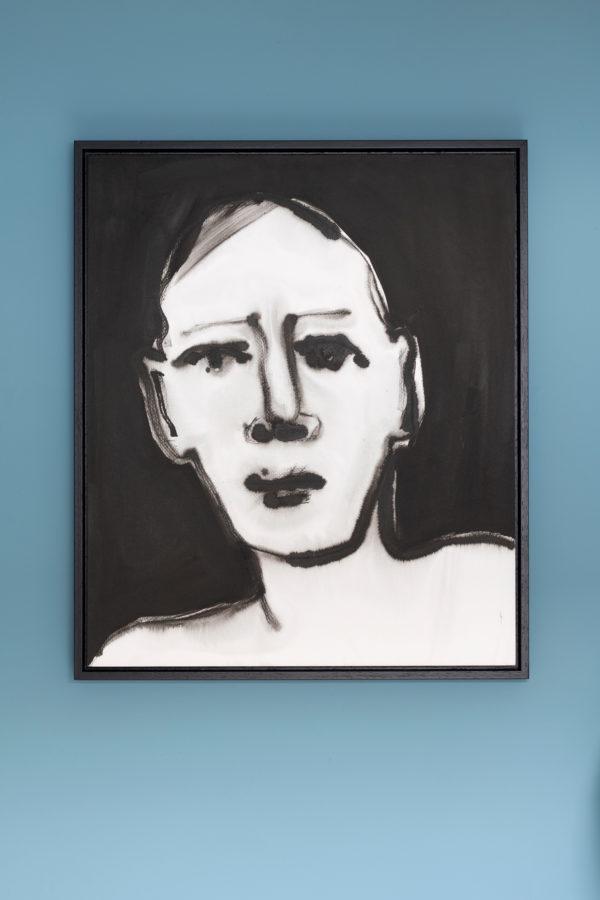 portret schildering inkt