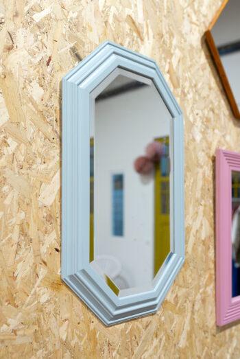 mintgroene spiegel