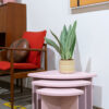 roze bijzettafeltjes