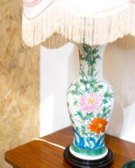 VINTAGE CHINESE LAMP DETAIL