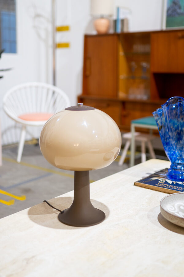 vintage mushroom lamp