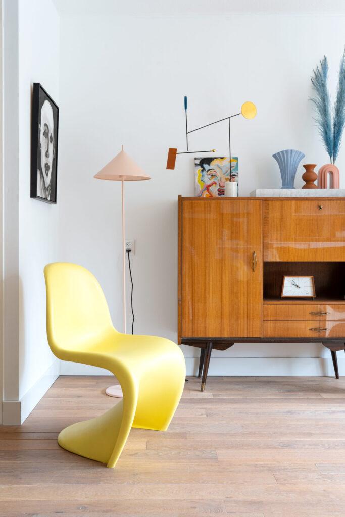 vintage vitra panton stoel