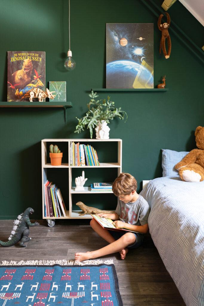 boekenkastje kinderkamer