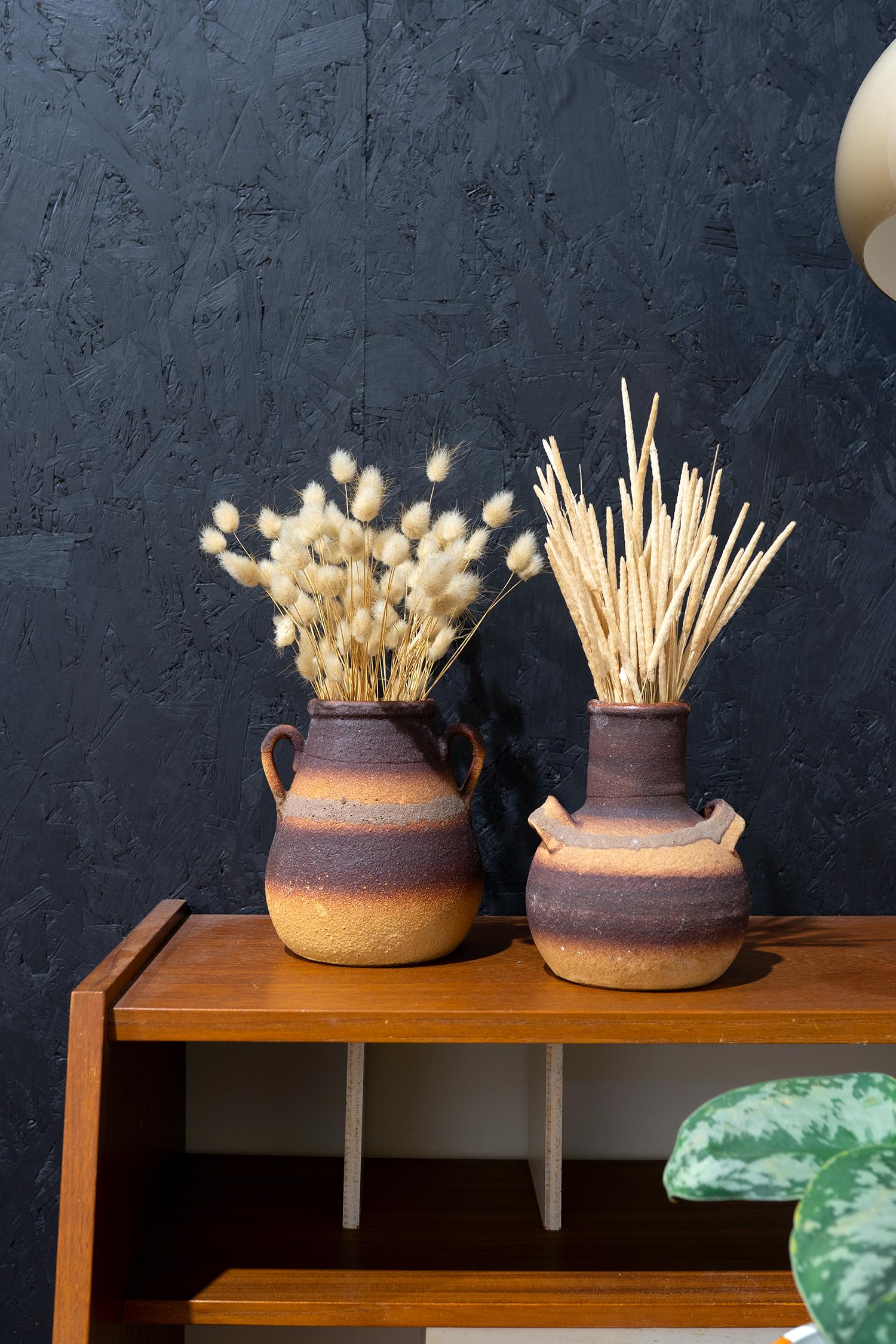 vintage aardewerk vazen