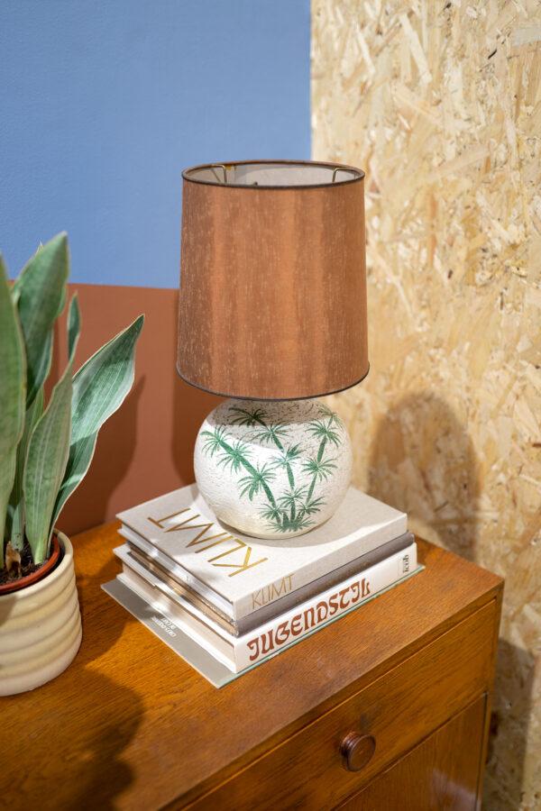 vintage tafellamp palm