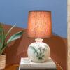 vintage tafellamp palm print