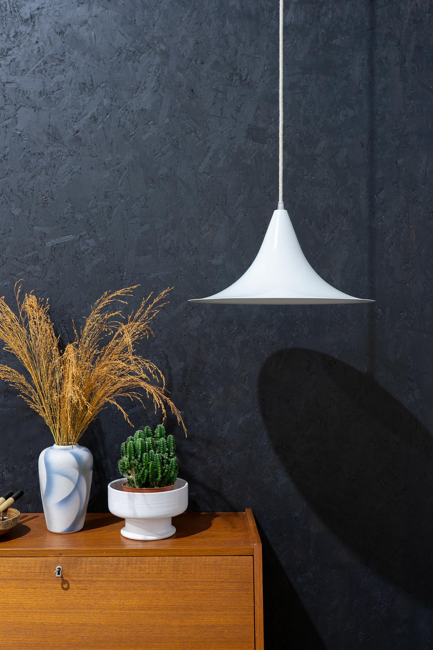 witte heksenhoed hanglamp