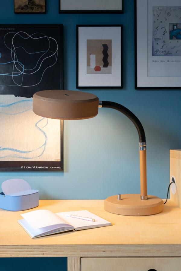 vintage bureaulamp groot
