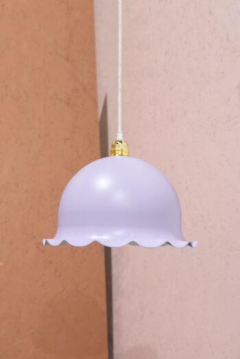 vintage hanglamp lila