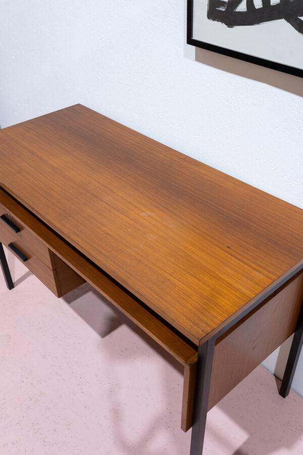 vintage bureau teak