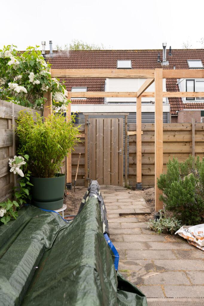 overkapping in tuin maken