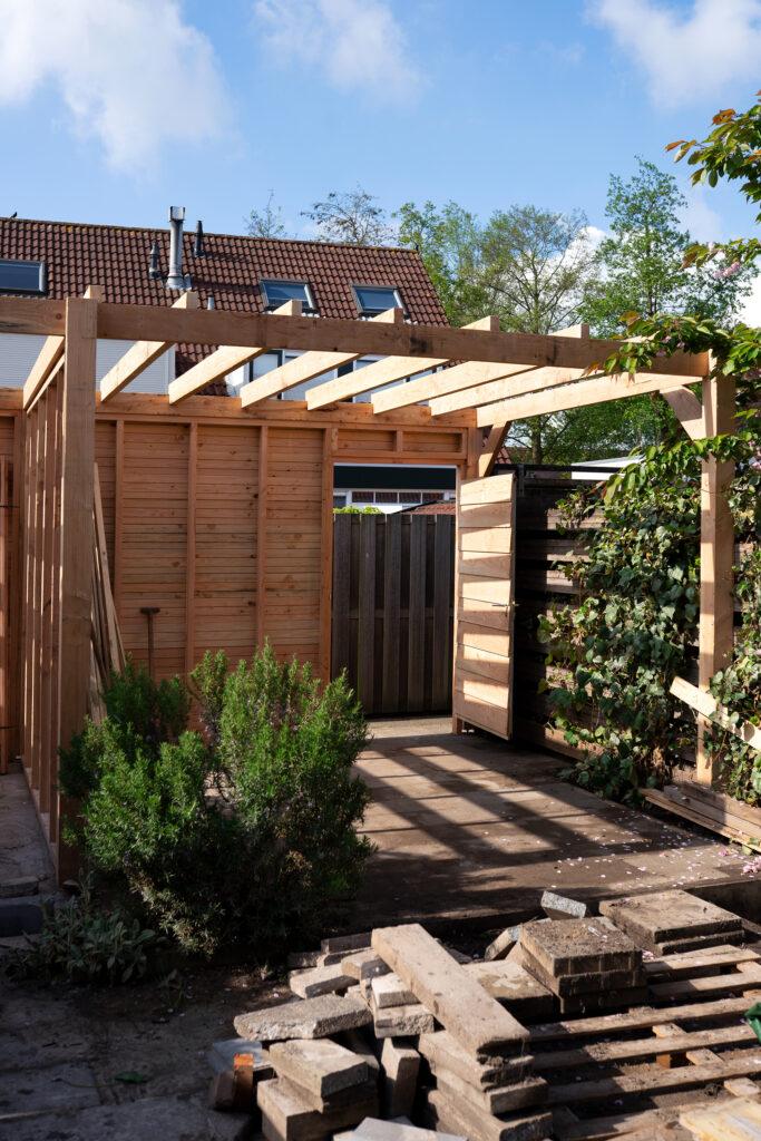 tuinhuis maken