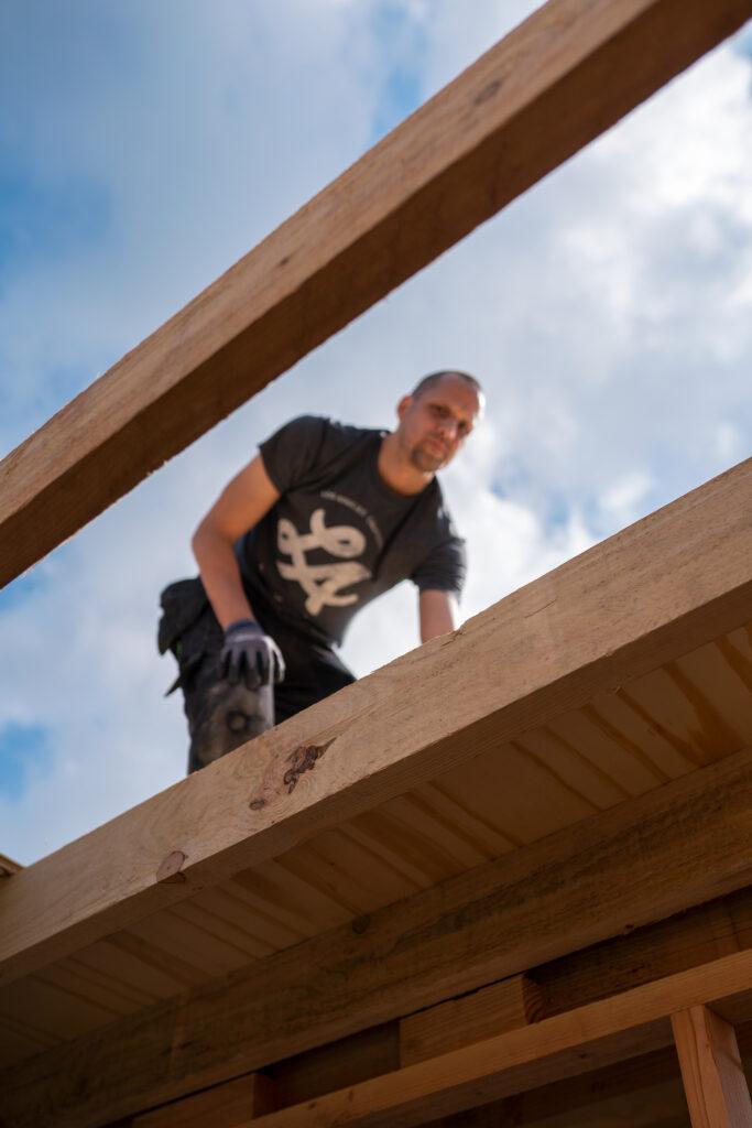 overkapping dak maken
