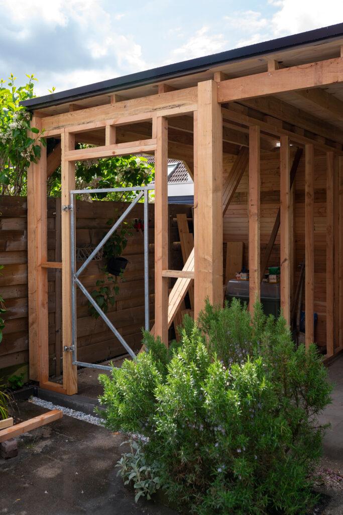 tuinhuisje maken van hout