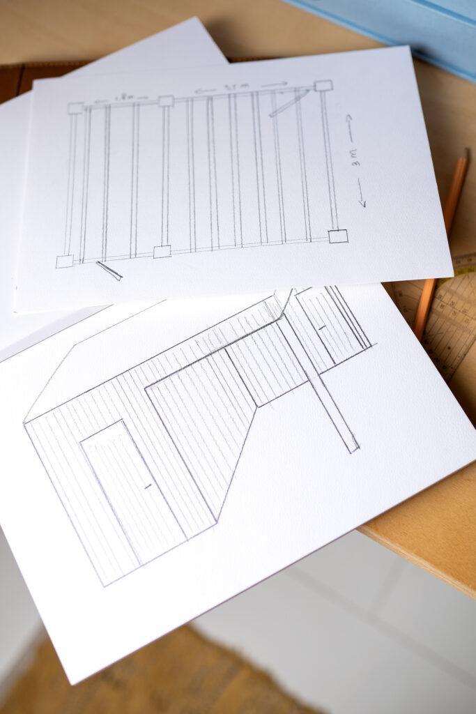 ontwerp overkapping tuin