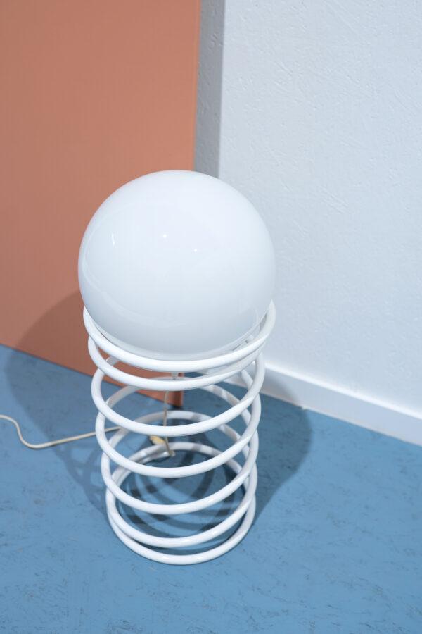 vintage spiraal lamp Woja