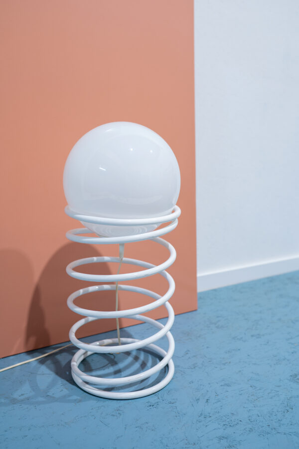 vintage spiraal lamp Woja jaren 70