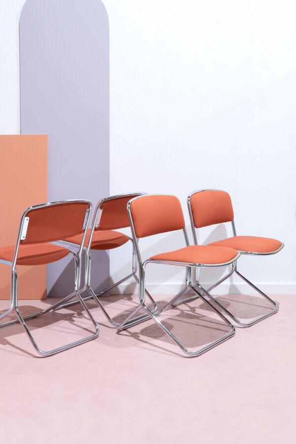 buisframe stoelen chroom