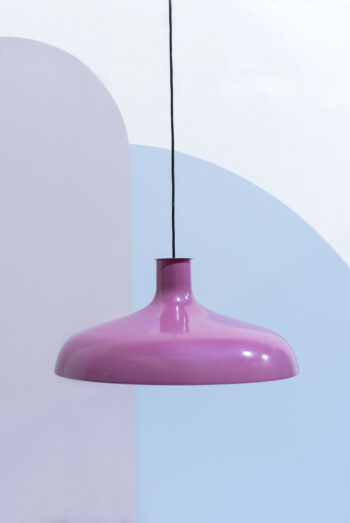 paarse jaren 70 hanglamp